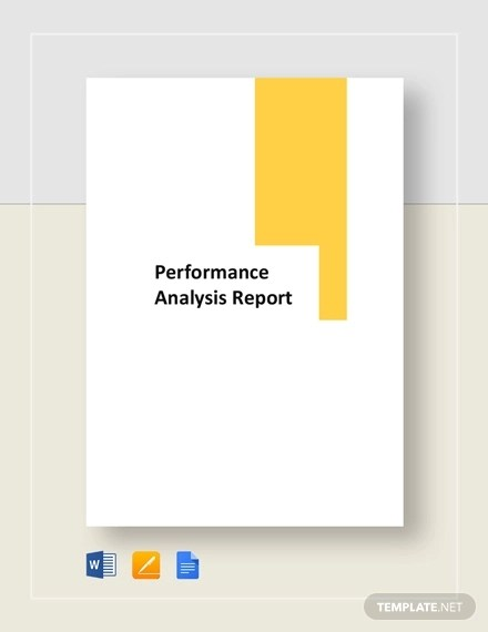 10+ Performance Analysis Report Examples - PDF, Apple Pages, Word