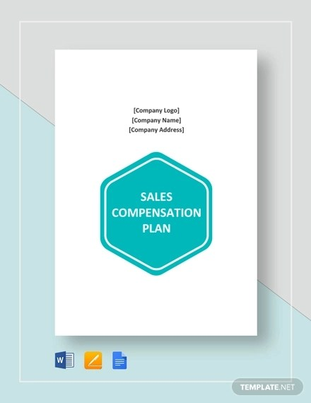 12+ Sales Compensation Plan Template Examples - PDF, Word Examples