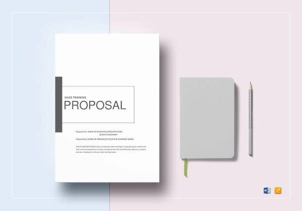 9+ Sales Training Proposal Examples - PDF