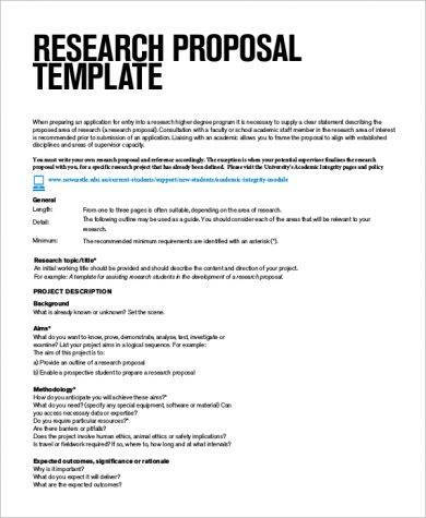 9+ Research Project Plan Examples - PDF Examples