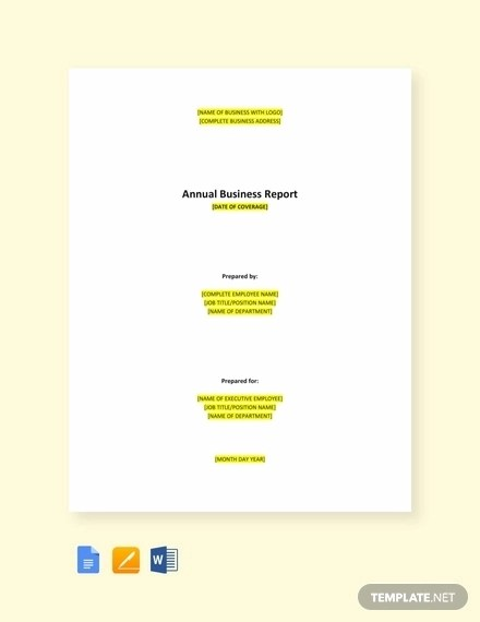 10+ Annual Business Report Examples - PDF, Word, Apple Pages Examples
