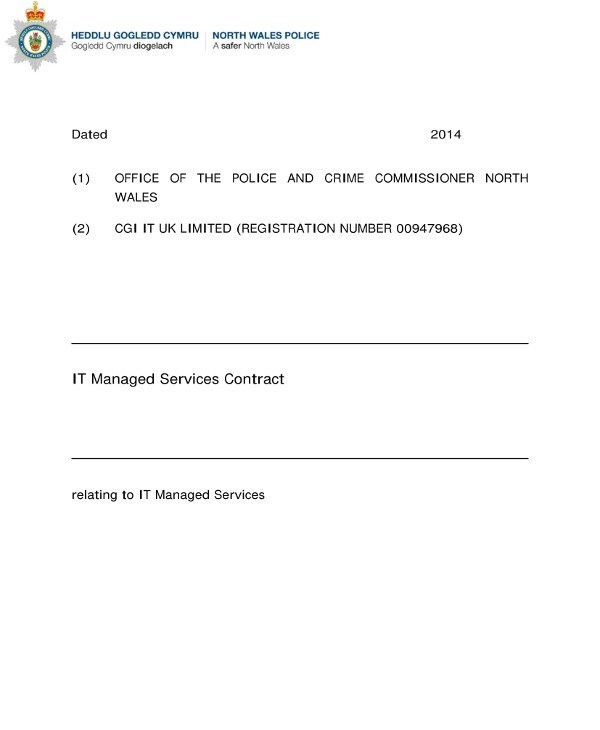 9+ Managed Services Contract Examples - PDF