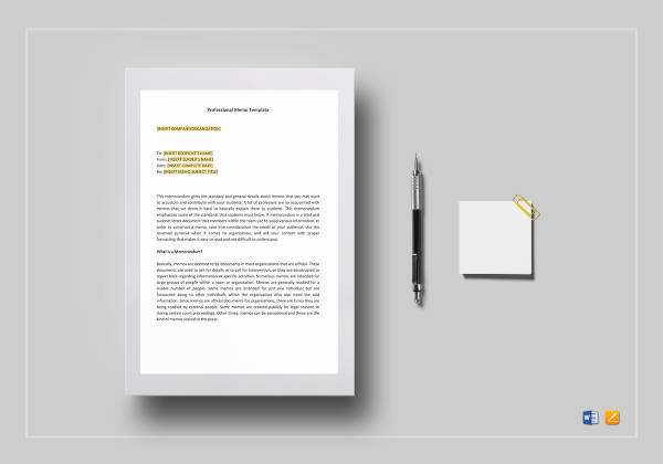 10+ Memo Writing Examples  Samples - PDF, DOC, Pages Examples
