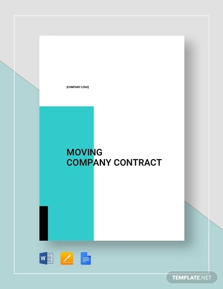 11+ Moving Company Contract Templates - Word, Docs Examples