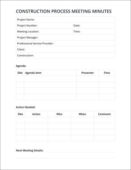 14+ Meeting Minutes Examples, Templates in Word
