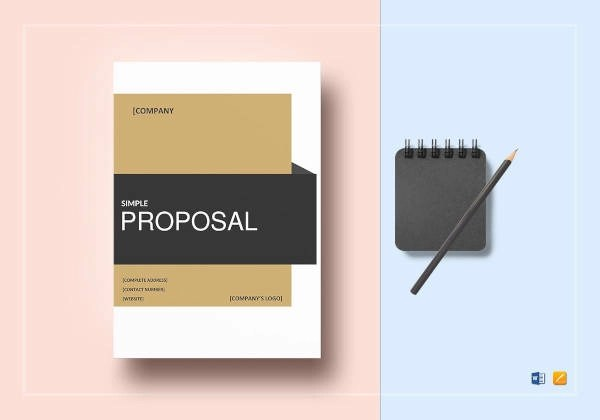 11+ Professional Proposal Examples  Samples - PDF, Word, Pages