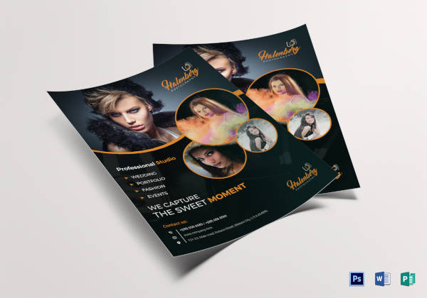 47+ Photography Flyer Designs  Examples - PSD, AI, EPS, DOC, Pages