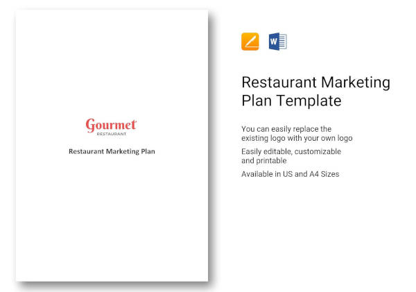 12+ Restaurant Marketing Plan Examples - PDF, Word, Pages