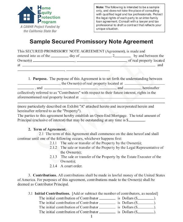 promissory note examples - Pinarkubkireklamowe