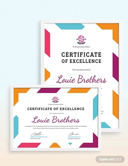10+ Achievement Certificates - Word, AI, InDesign, PSD Examples