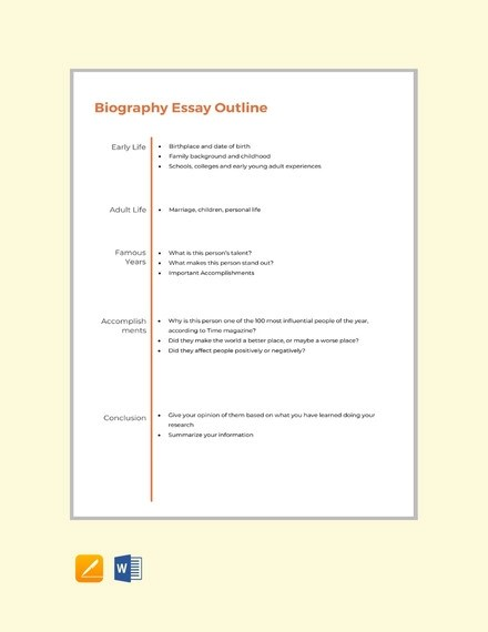 26+ Sample Essay Outlines - DOC, PDF Examples