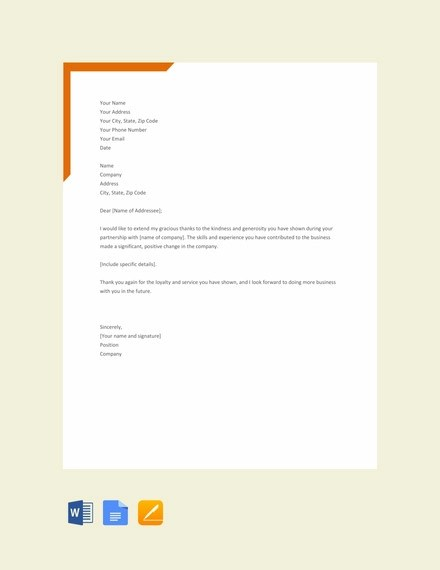 73+ Thank-You Letter Examples - DOC, PDF Examples