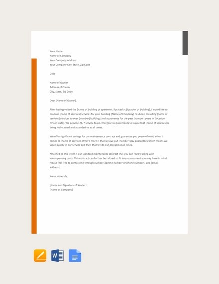 26+ Business Proposal Letter Examples - PDF, DOC Examples
