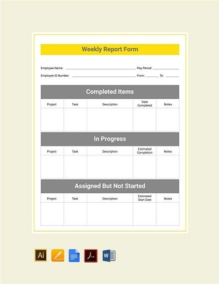 9+ Internship Report Examples  Samples - PDF Examples