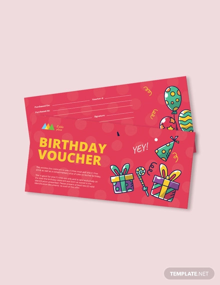14+ Birthday Coupon Designs and Examples - PSD, iPages, Publisher