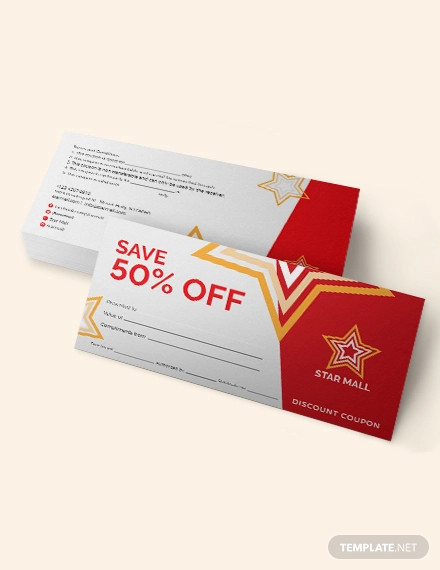 11+ Blank Coupon Designs and Examples - PSD, Apple Pages, Publisher