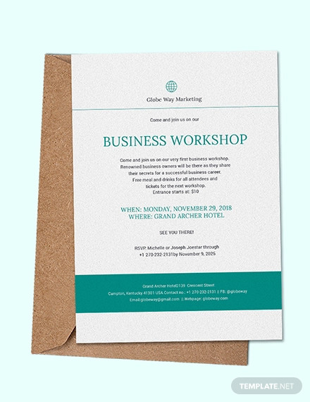 23+ Business Invitation Card Designs and Examples - PSD, AI Examples