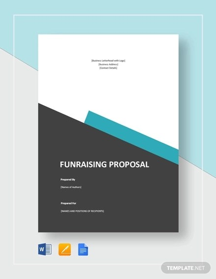 8+ Fundraising Proposal Examples  Samples - Word, PDF, Pages Examples