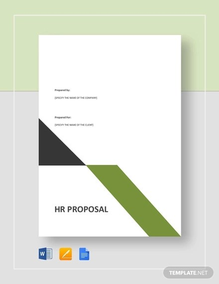 14+ Hr Proposal Examples - PDF, Word, Pages Examples