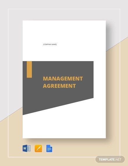 62+ Management Agreement Examples and Samples - Word, PDF Examples