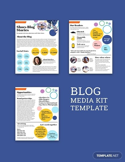 15+ Media Kit Examples  Templates in PSD (Download Now) Examples