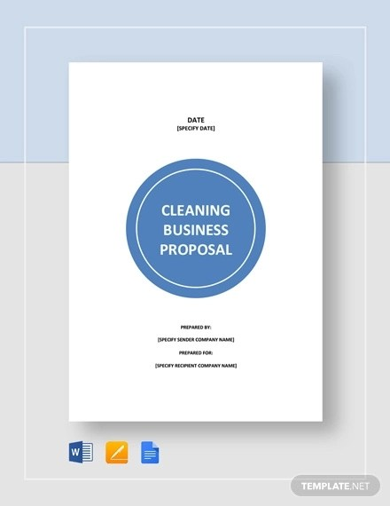 10+ Cleaning Proposal Examples and Samples - PDF, Word, Pages Examples