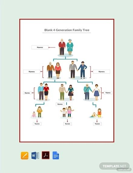 15+ Best Family Tree Examples  Templates (Download Now) Examples