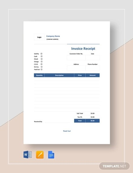 Difference between Invoice Vs Receipt? Examples