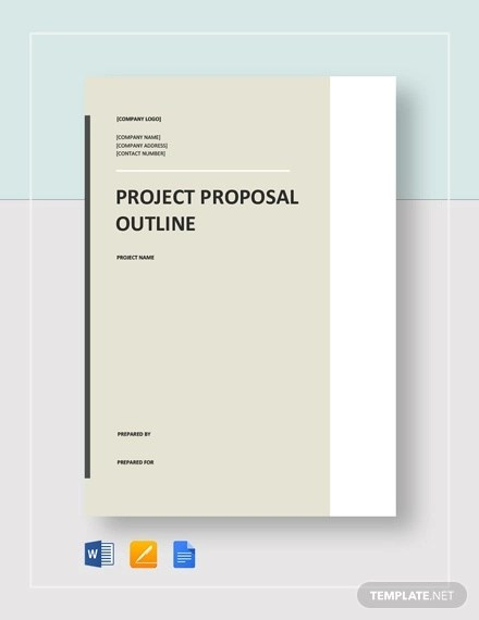 4+ Project Proposal Outline Examples - PDF, Word, Pages Examples
