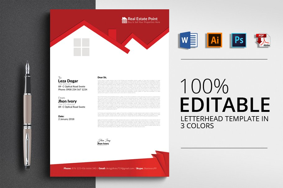 professional letter templates