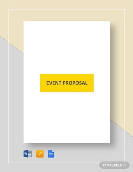 36+ Event Proposal Examples - PDF, DOC, PSD Examples