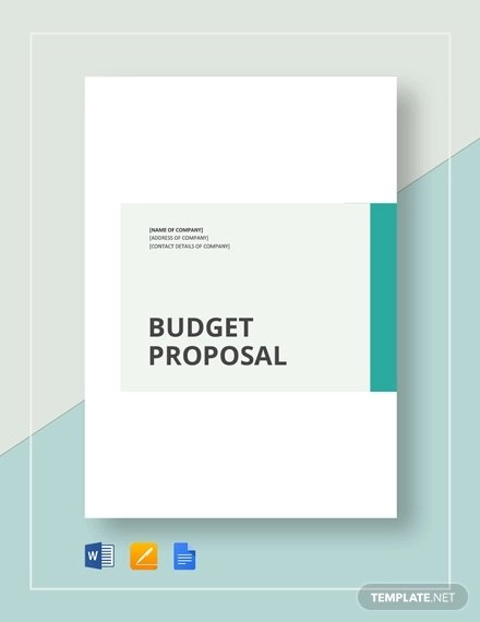 15+ Budget Proposal Examples - PDF, Word, Pages Examples