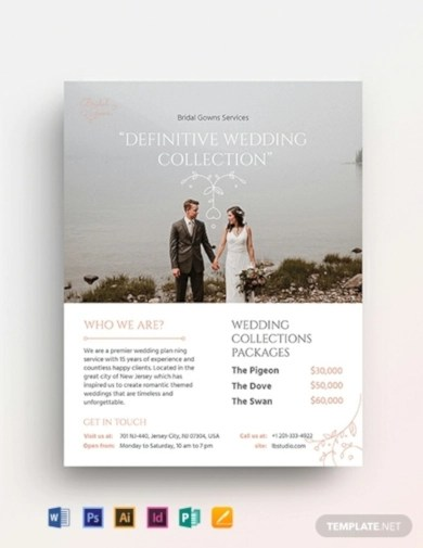 10+ Best Wedding Flyer Examples  Templates Download Now Examples