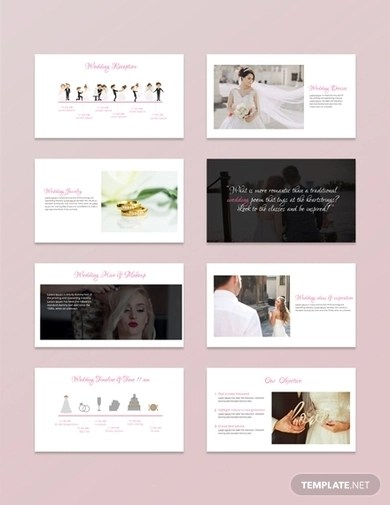 5+ Wedding PowerPoint Examples  Templates Download Now Examples