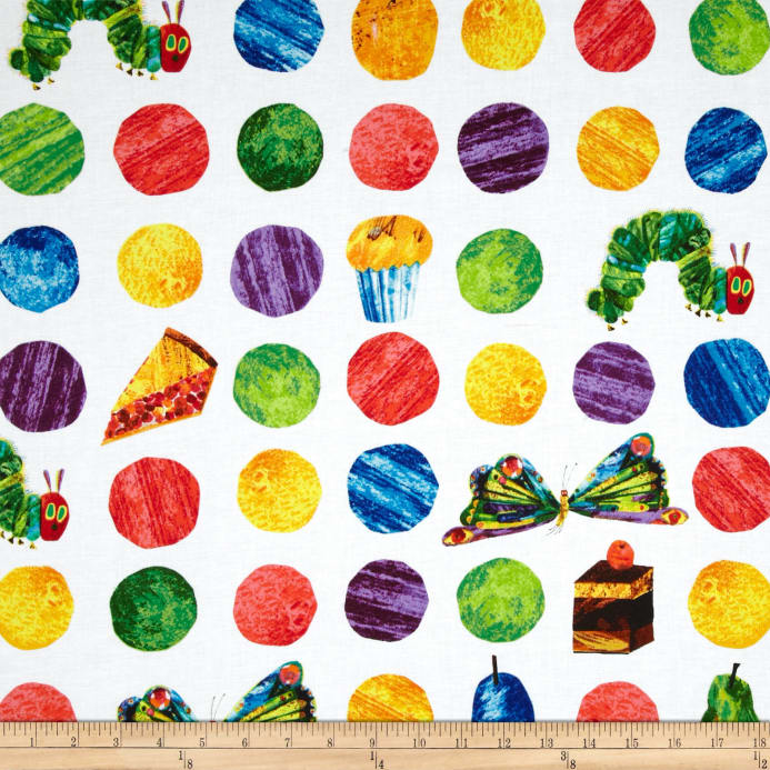 The Very Hungry Caterpillar Dots Large Scattered Fruit - Discount