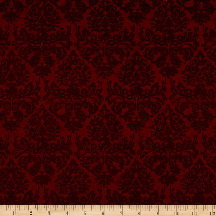 Black Velvet Damask Wallpaper Words To Live By Damask Dark Red Discount Designer