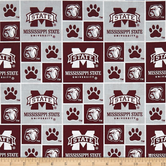 NCAA Mississippi State University Box Logos Allover - Discount