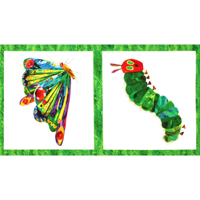 The Very Hungry Caterpillar Panel Butterfly White/Multi - Discount