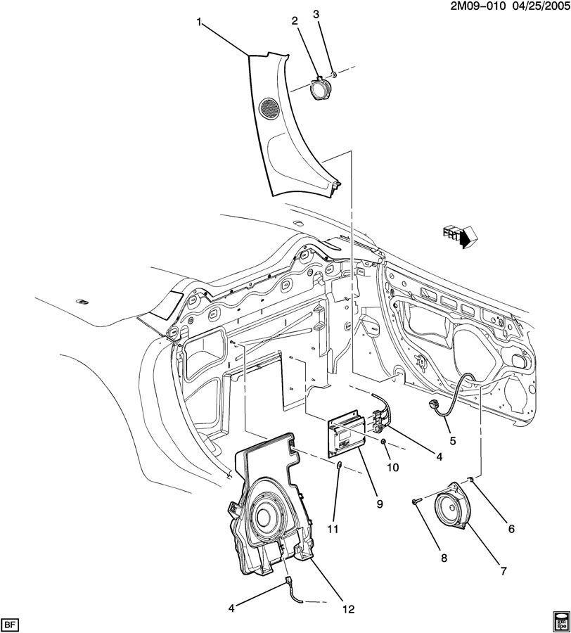 pontiac door parts