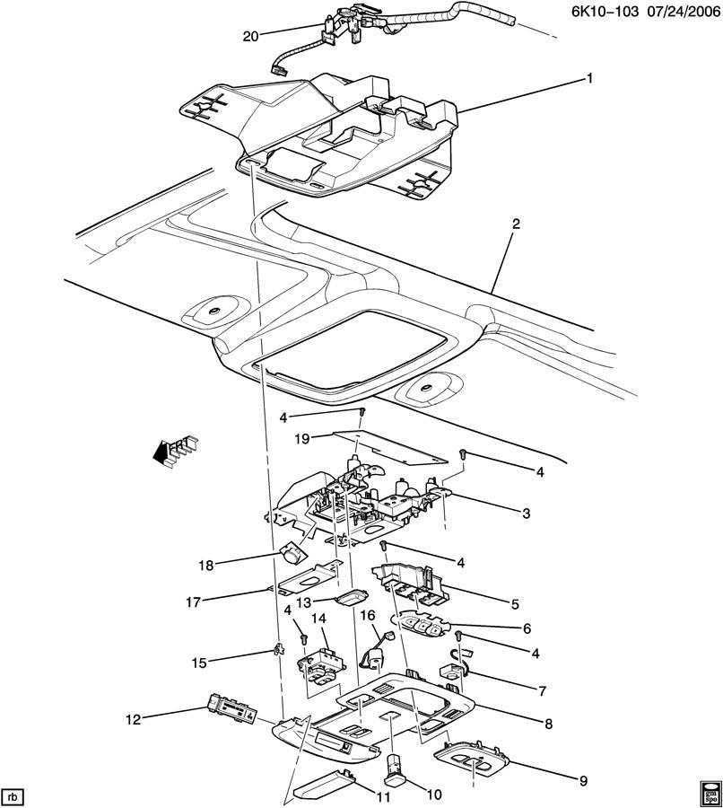 gm sunroof wiring diagram