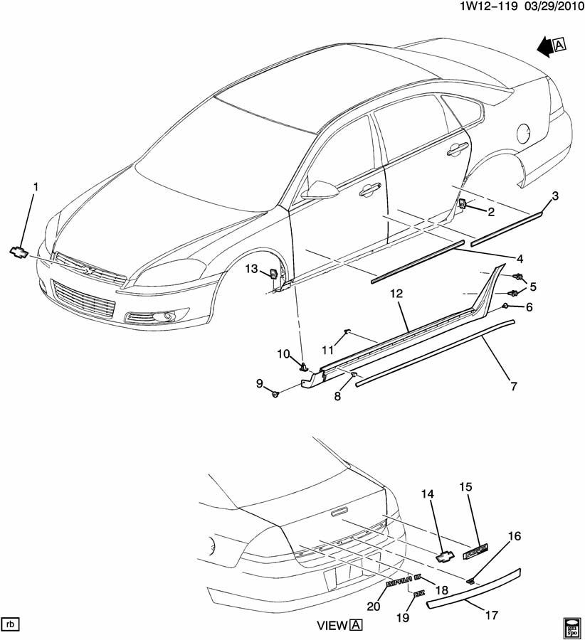 2006 chevy impala electrical diagram