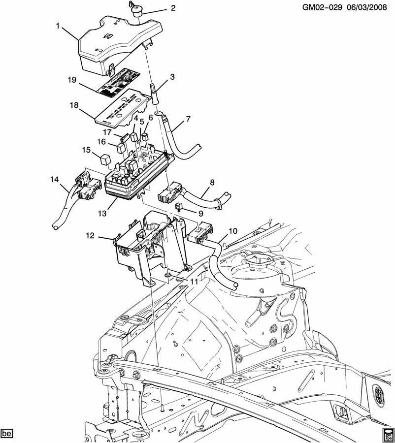 2009 buick lucerne fuse box diagram