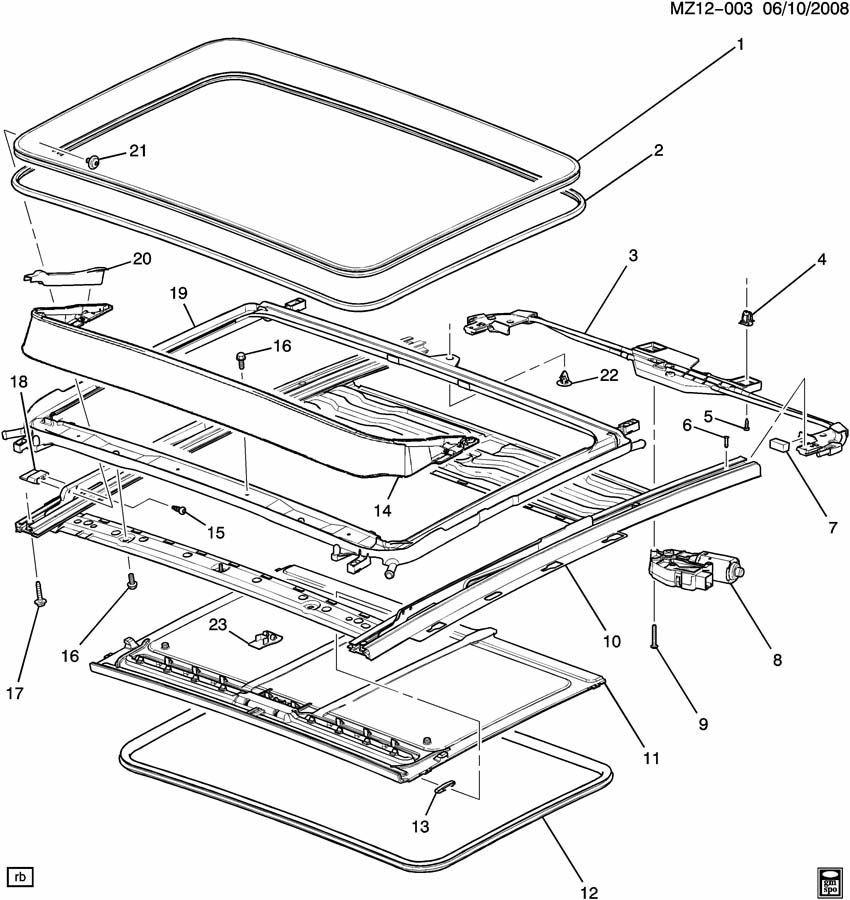 malibu parts diagram