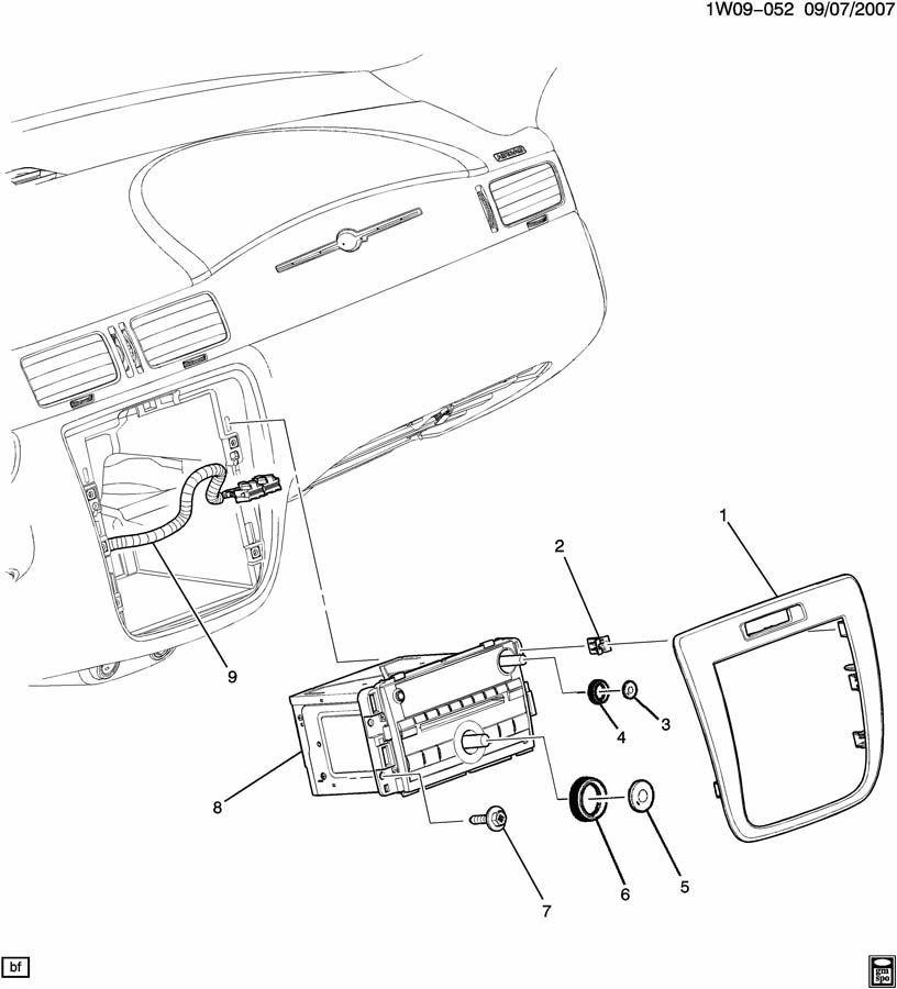 2004 impala factory radio wiring harness
