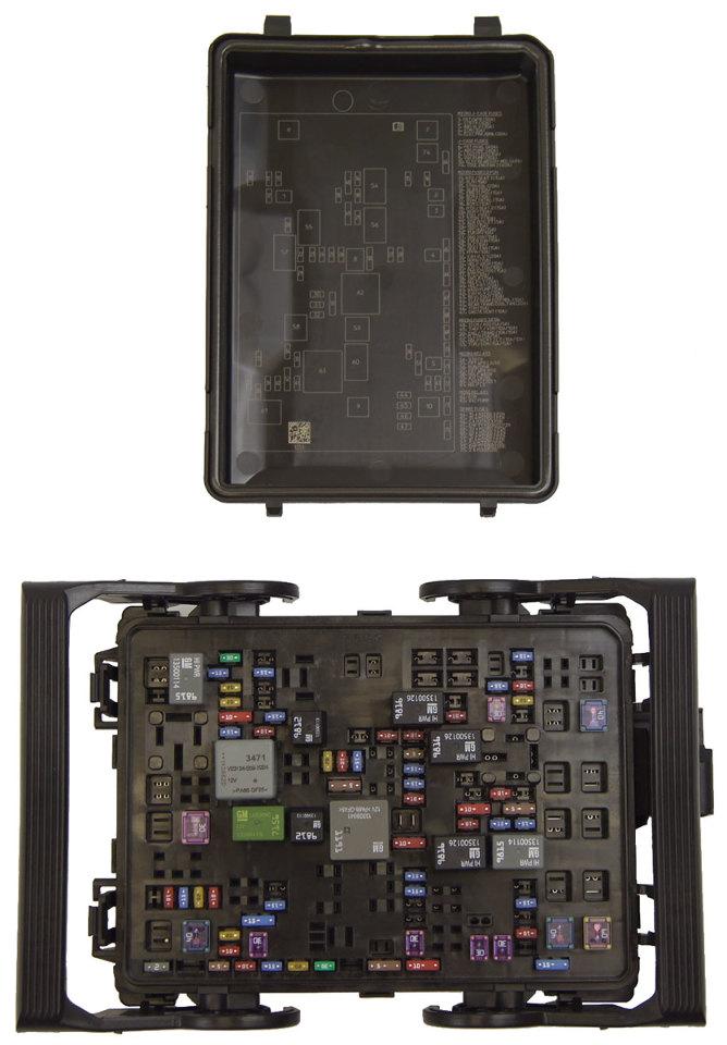 oem c6 fuse box cover