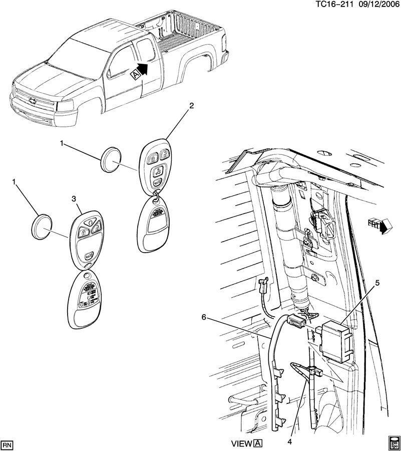 07 silverado remote start wiring diagrams
