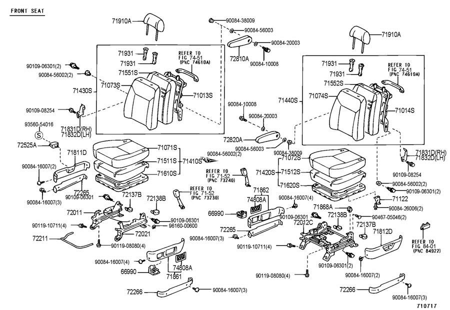 2008 toyota matrix wiring diagram original