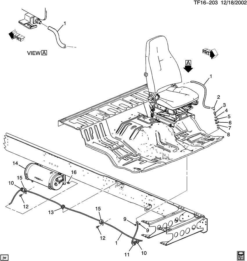 199chevy kodiak gmc topkick wiring diagram original