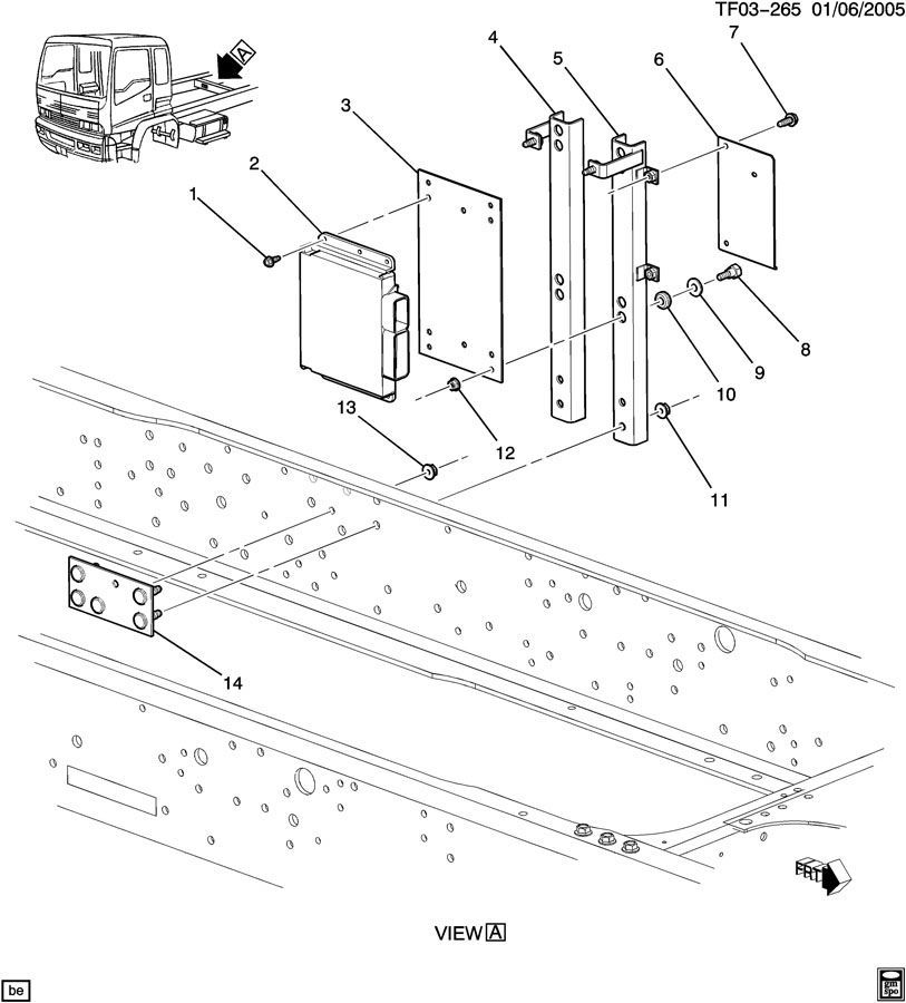 Gmc T8500 Wiring Diagram - Wiring Data Diagram