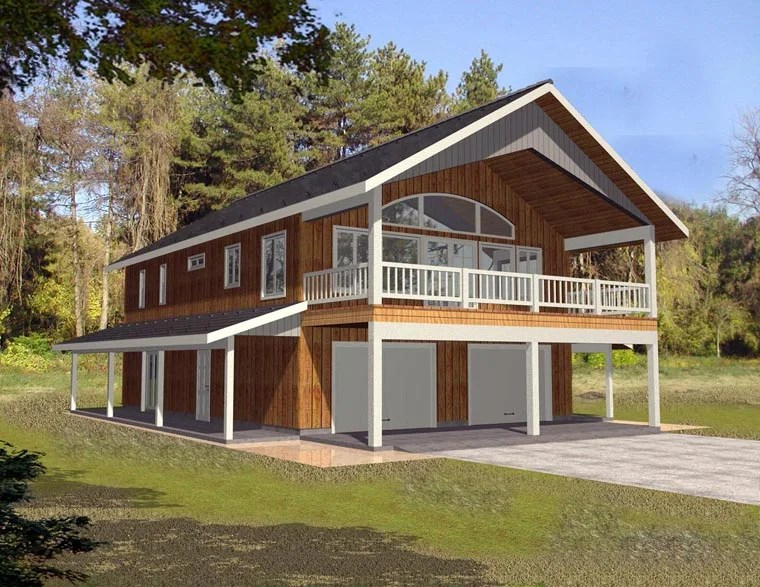 Garage Plan 85372 At Familyhomeplanscom
